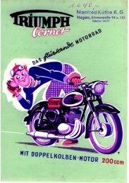 Cornet-das flüsternde Motorrad - TWN Zweirad IG
