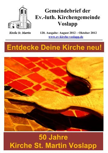 Ausgabe 120 - August 2012 bis Oktober 2012 - Kirche am Meer ...
