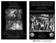 Opera Scenes A Midsummer Night's Dream - School of Music
