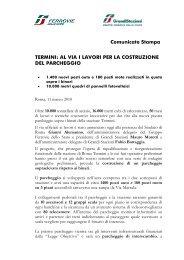 Comunicato stampa - Grandi Stazioni S.p.A.
