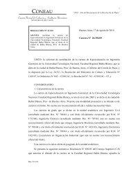 Acreditación - EIG - Res. Nº 511/10 - FRBB - UTN - Universidad ...