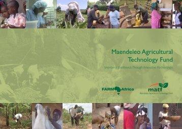BP 2007 MATF.pdf - Farm Africa