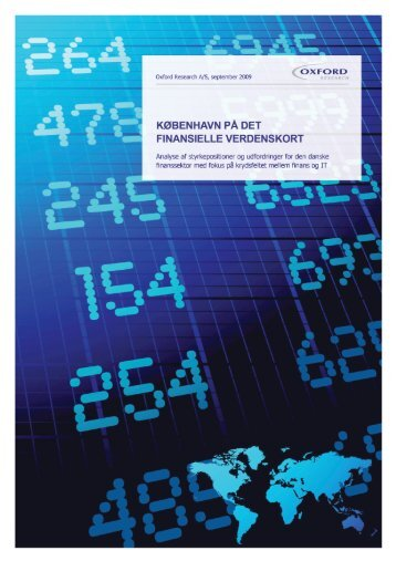 København på det finansielle verdenskort - CFIR