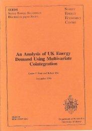 An Analysis of UK Energy Demand Using ... - ResearchGate