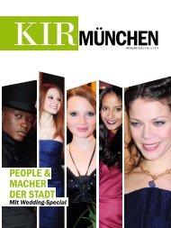 PEOPLE & MACHER DER STADT - Kir München
