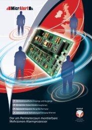 MicrAlert Produktbroschüre (pdf) - Geoquip