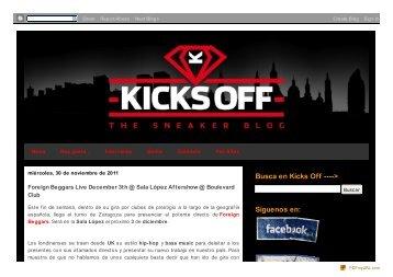 Kicks Off!: Foreign Beggars Live December 3th @ Sala López ...