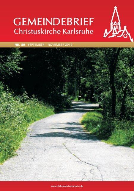 Nr. 89, Sept-Nov 2012 - Systemisches Institut Karlsruhe