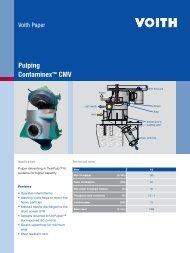 Pulping Contaminex™ CMV - Voith