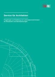 Service für Architekten - Kalzip