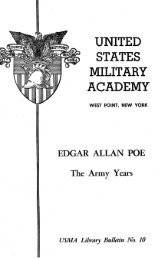 Edgar Allan Poe's - USMA Library Digital Collections - West Point