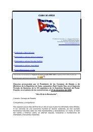 CUBA 50 AÑOS - México Diplomático