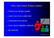 Radon - Testing - Mitigation - Wpb-radon.com