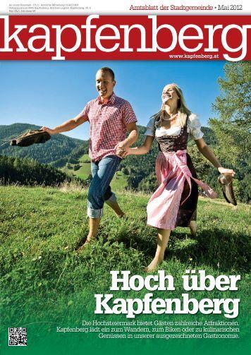 Amtsblatt Mai 2012 (7,17 MB) - .PDF - Stadtgemeinde Kapfenberg