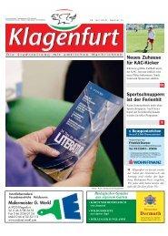 KAC-Kicker Sportschnuppern ist der Ferienhit - Klagenfurt