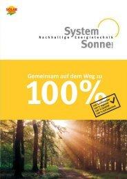 Firmenprospekt zum Download (672 kB) - System Sonne GmbH