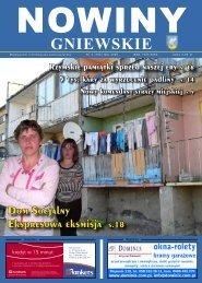 Nowiny Gniewskie Maj 2009 - biblioteka.gniew.wbpg.org.pl