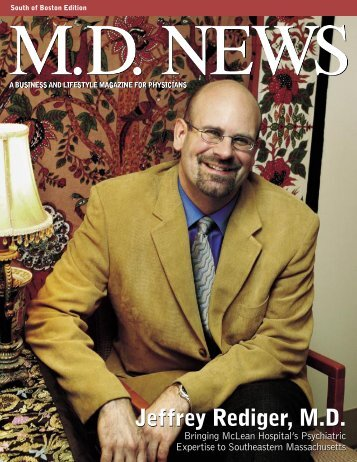 Jeffrey Rediger, MD Jeffrey Rediger, MD - McLean Hospital