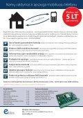 Valdymo ir apsaugos sistema mobiliuoju telefonu - Page 2