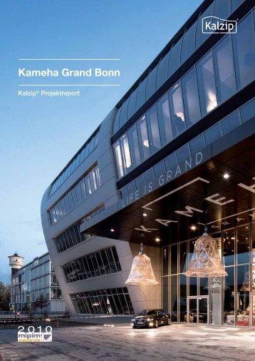 Kameha Grand Bonn Kalzip® Projektreport
