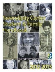 Student & Family Handbook - Serendipity Center