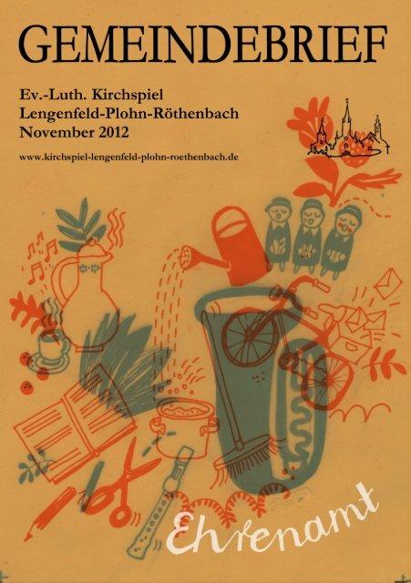 Gemeindebrief November 2012 - Kirchspiel Lengenfeld Plohn ...