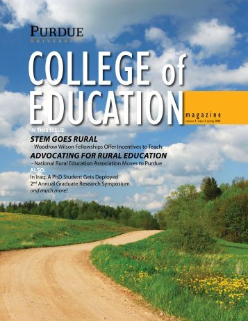STEM GOES RURAL ADVOCATING FOR RURAL EDUCATION ...