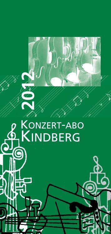 Konzert-ABO Kindberg 2012