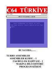 C64 Turkiye - Sayi 01 (Kasim 2002).pdf - Retro Dergi