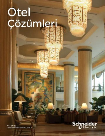Otel Çözümleri Kataloğu (pdf, 1.34 mb) - Schneider Electric