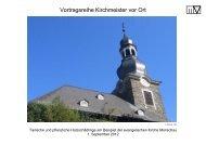 Vortrag Matthias Voigt, Sachverständiger für Pilz - Evangelischer ...