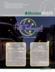 Sept 25–27 • Ritz-CaRlton • new oRleanS big ideaS in the big eaSy!