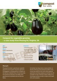 Phuong Vo - vegetable growing - Compost for Soils