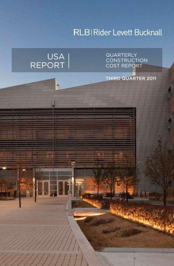 USA REPORT - Rider Levett Bucknall