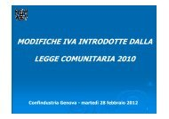 IVA - 28 febbraio 2012 - Confindustria Genova