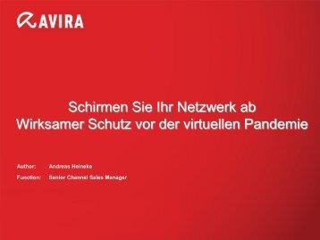 AVIRA Software - bei STW Datentechnik