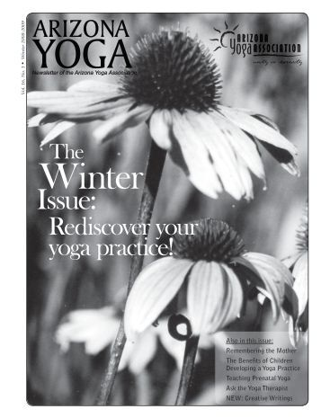 Issue: - Arizona Yoga Association