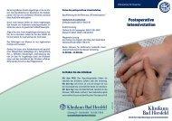Liebe Besucher! - Klinikum Bad Hersfeld GmbH
