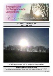 Download ca. 2 MB - Evangelische Kirchengemeinde Langenberg