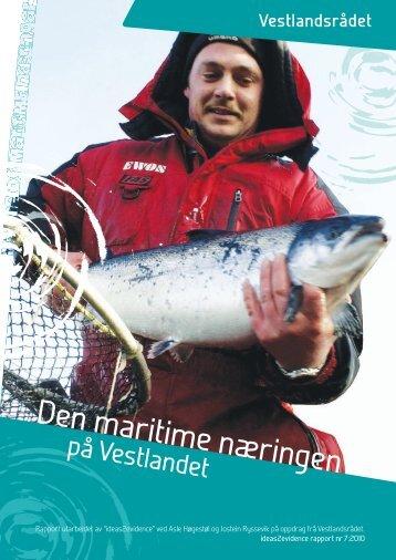 Den maritime næringen - Hordaland fylkeskommune