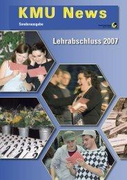 Lehrabschluss 2007 - KMU-Channel Gewerbeverband Basel-Stadt