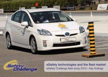 Fleet study - eSafety Challenge
