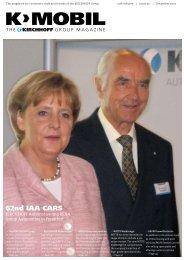 62nd IAA CARS - Kirchhoff Gruppe