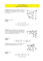 5. VAJA IZ TRDNOSTI (geometrijske karakteristike likov) NALOGA 1 ...