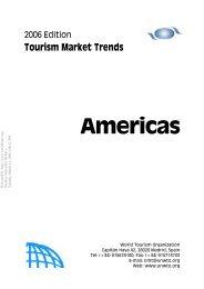 Tourism Market Trends Americas