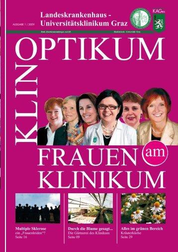 Klinoptikum 01/2009 - LKH-Univ. Klinikum Graz