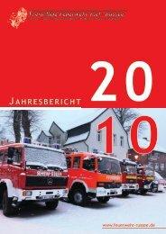 Jahresbericht 2011 als pdf - Freiwillige Feuerwehr Kiel - Russee