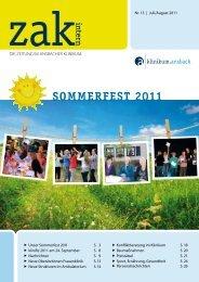 Auf geht's zum klinifiz 2011! - Klinikum Ansbach