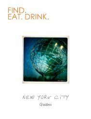 F.E.D. New York City - Queens Travel Guide - Find. Eat. Drink.