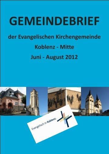 August 2012 - Evangelische Kirchengemeinde Koblenz-Mitte